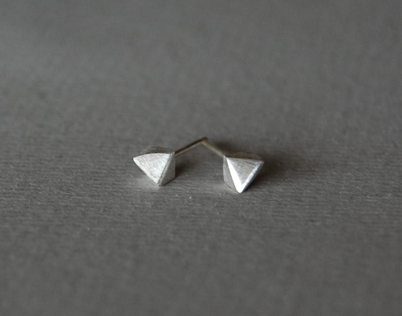 for him minimalist silver studs sterlins silver stud Small stud earrings silver stud earrings geometric studs