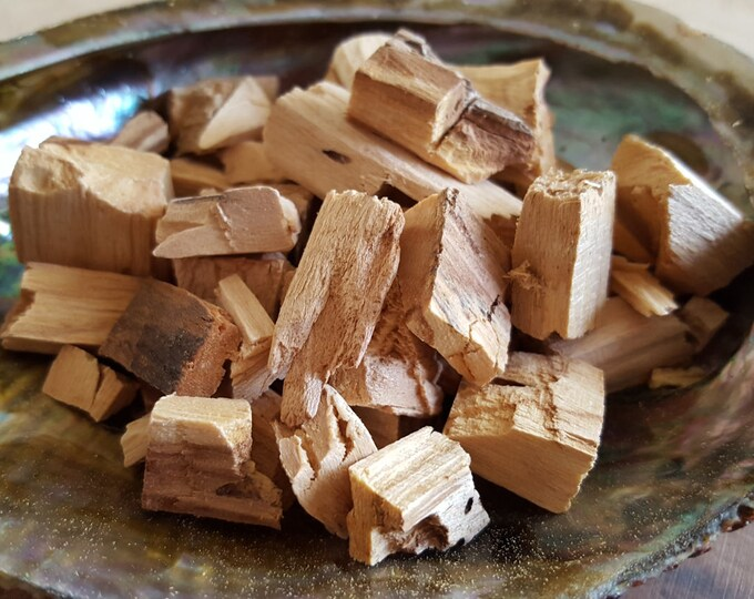 Palo Santo Holy Wood chunks (Burseara Graveolens) sustainably harvested, Reiki infused