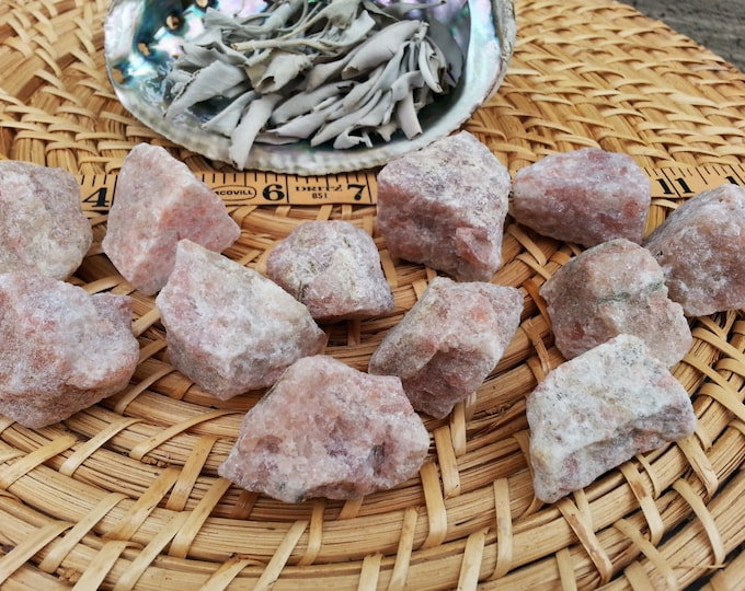 Sunstone ~ 1 Reiki infused rough crystal approx 1.5 inches