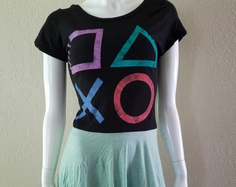 Womans Playstation Cosplay Gamer Dress