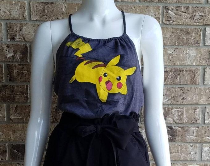 Pokémon Pikachu Gray Tank Top