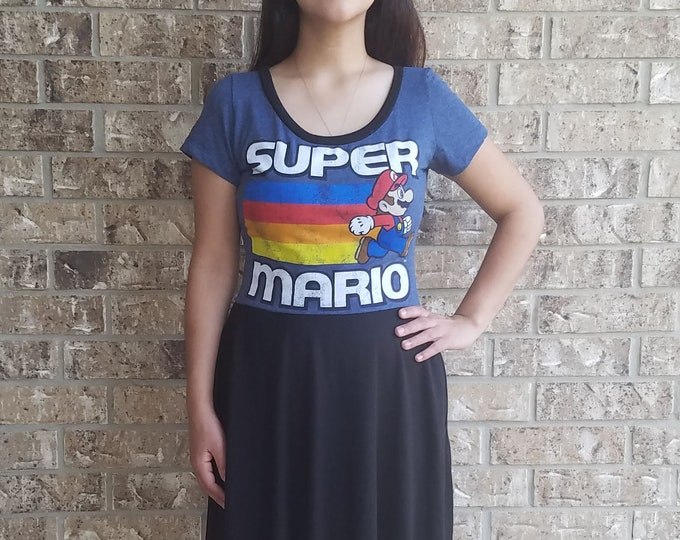 Women's Super Mario Dress with Pockets