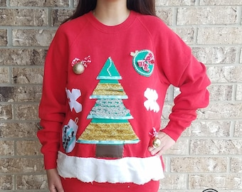 Ugly Christmas  Sweater / Tacky Holiday Sweater / Holiday Sweater / Ugly Christmas Sweater Party
