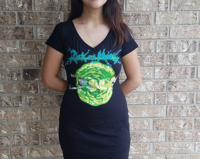Rick and Morty Cosplay Dress