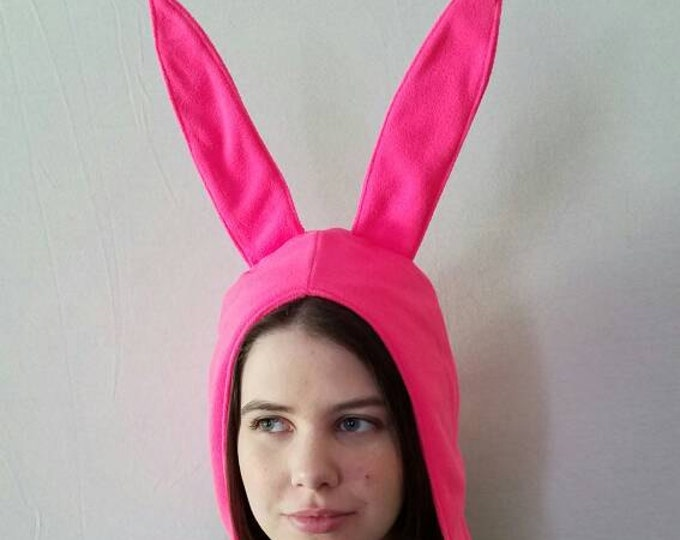 Pink Rabbit Cosplay Hat