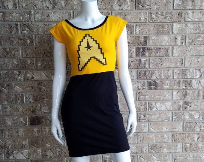 Women's Star Trek Command Cosplay Dress
