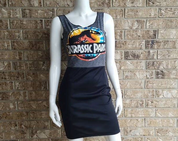 Jurassic Park Lace Back Dress