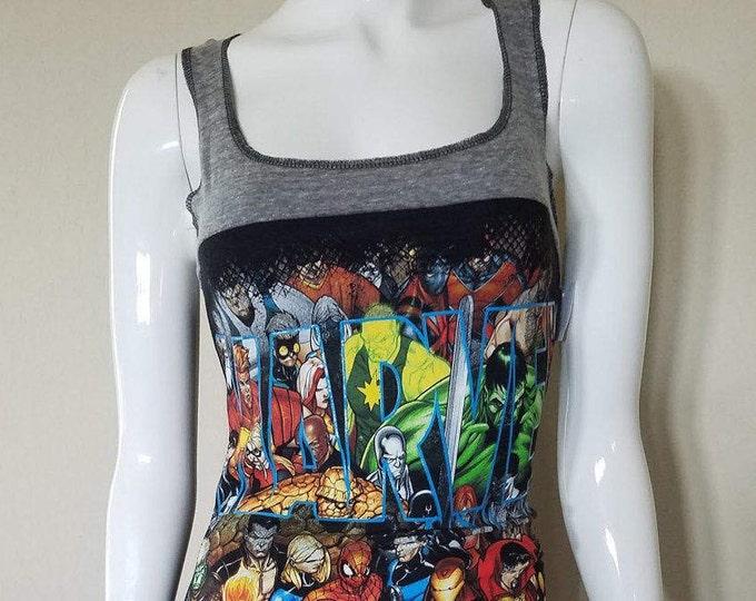 Marvel Civil War Tank Top Dress