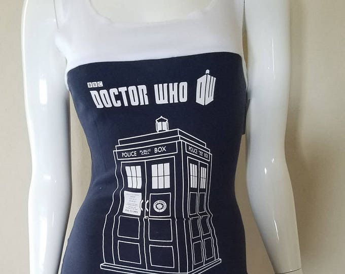 Doctor Who Tardis Tank Top Dress