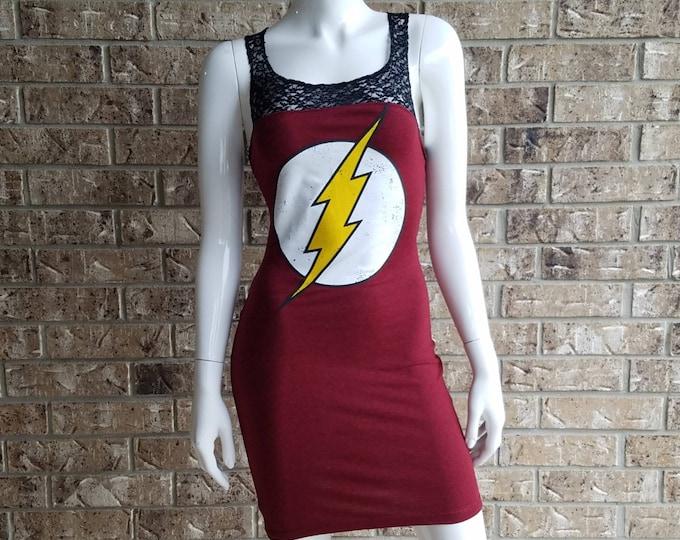 DC Universe The Flash Lace Top Dress
