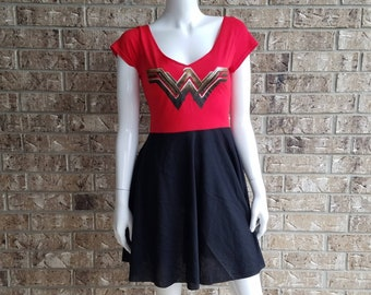 Wonder Woman Dress with Pockets