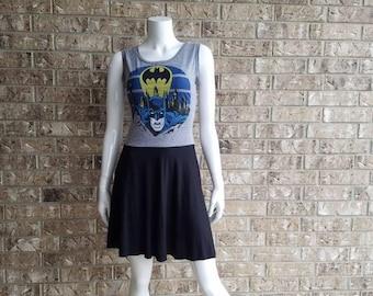 Old Skool Batman Aline Dress/ Batman Dress