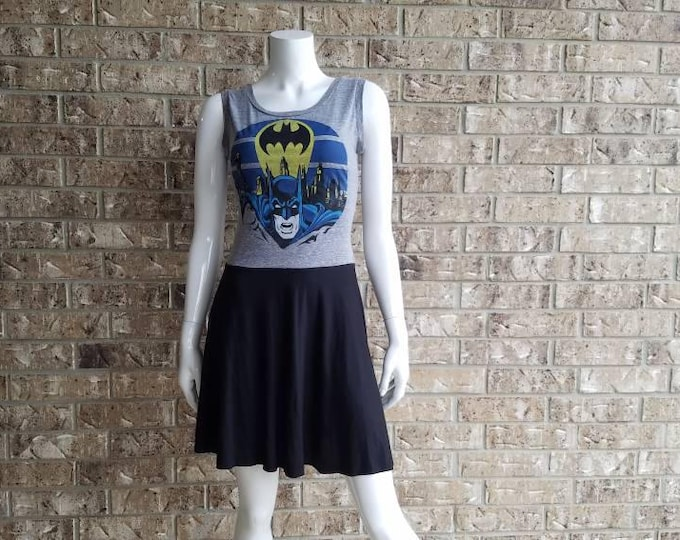 Old Skool Batman Aline Dress/ Batman Dress