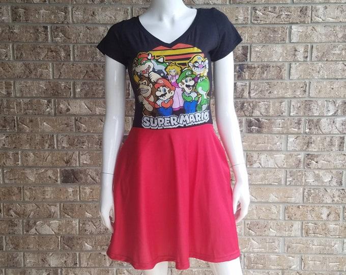 Super Mario V neck Dress