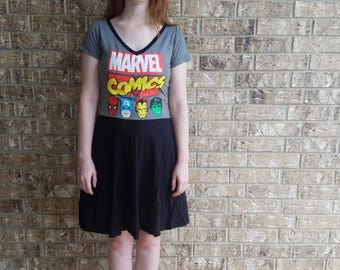 Marvel Avengers  Skater Dress with Pockets