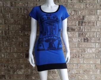 Star Wars R2D2 Blue Dress