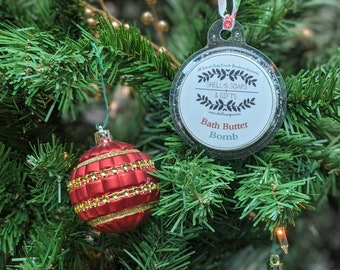 Bath Butter Bomb Holiday Ornament