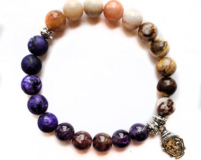 Siddhartha Charm Gemstone Bracelet