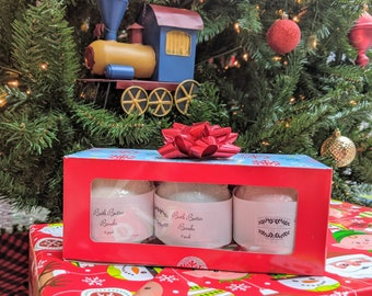 Bath Butter Bomb Holiday Gift Set