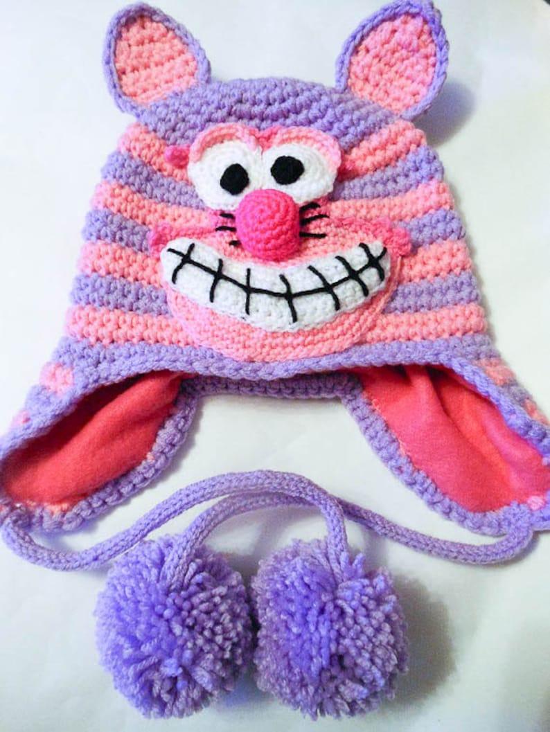Cheshire cat Amigurumi crochet pattern from Alice in Wonde… | Flickr | 1057x794