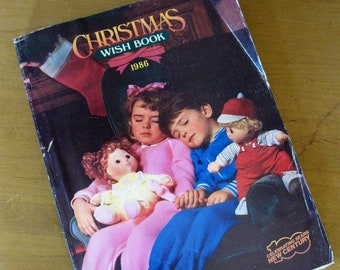 e907da9732325 1986 Sears CHRISTMAS Catalog- WISHBOOK -COMPLETE -holiday catalog - toy  -gift catalog -reference -671 pages -Sears Roebuck -store catalog