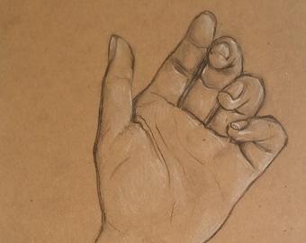Original Sketch - Hand