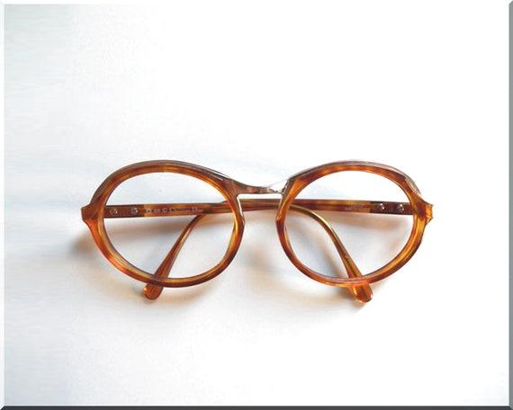 9125e162434 Vintage Dior Golden Bridged Tortoise Shell Eyewear Frames