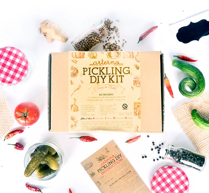 DIY Pickling Kit Craft Gift Box image 0