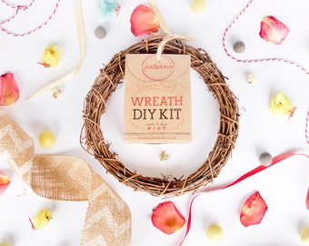 DIY Kit Easter Wreath | Craft kit
