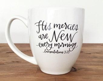 Bible Verse Mug Etsy