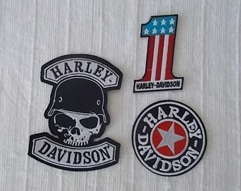 Vintageharley Davidson Pinharley Jewelrybiker Etsy