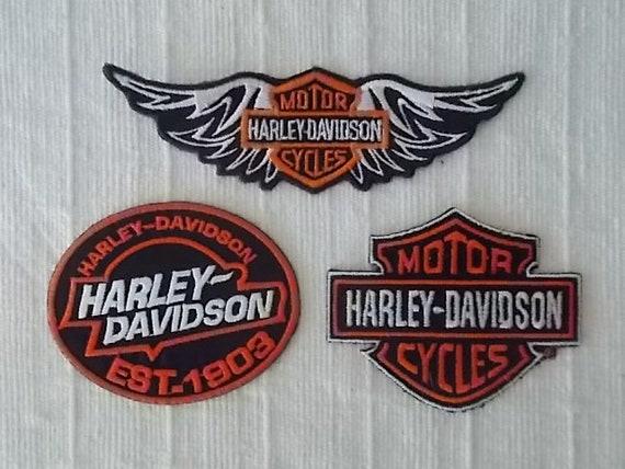 849aeb81b595 Harley Davidson Patch LotHarley JewelryBiker