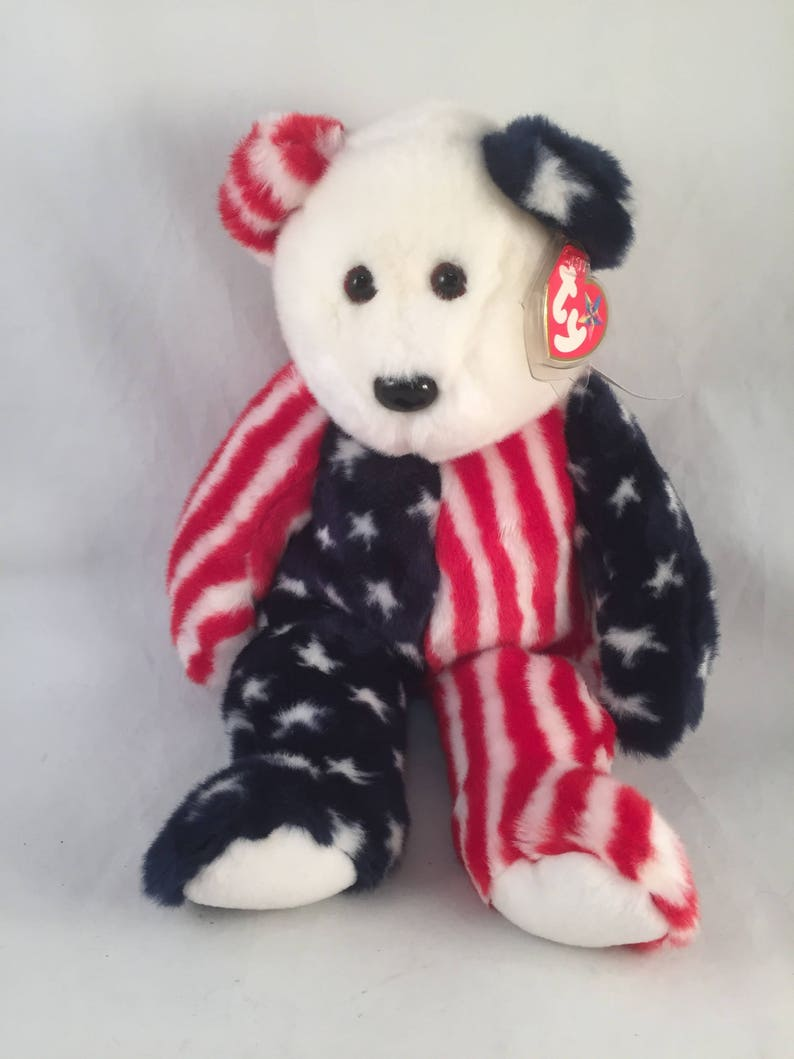 Large Plush Spangle Beanie Buddies Collection Rare Stars and  fa029ce166