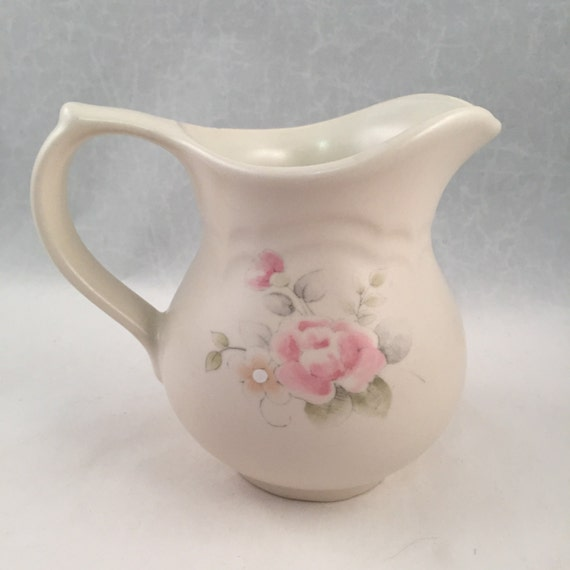 good Pfaltzgraff Vintage Floral Part - 16: Pfaltzgraff Tea Rose Creamer Vintage Pfaltzgraff Floral | Etsy