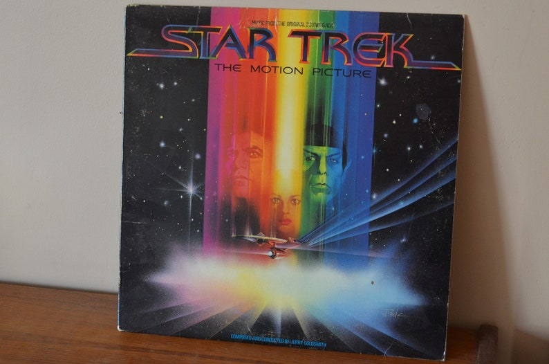 Star Trek The Motion Picture Soundtrack on Record  AL 36334 NM-