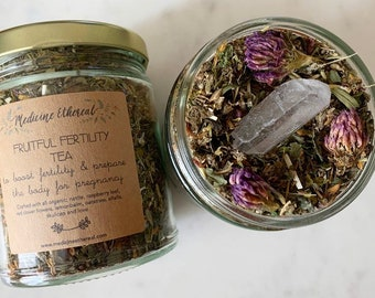 Fruitful Fertility Tea- Organic Herbal Fertility Tea to help with Conception and Conceiving a Child, for Women