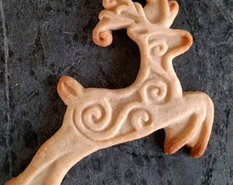 Reindeer Silicone Cookie Mold