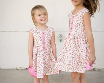 SALE Cheeky Plum Penelope Dress in Sunshine Poppy