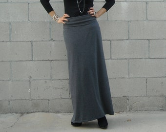 5427d2c5fa5 Womens A Line Skirt - Plus Size Skirt - Maxi Skirt - Foldover Waistband -  Skirt - Long Skirt - Petite Skirts - Tall Skirts - Custom Skirts