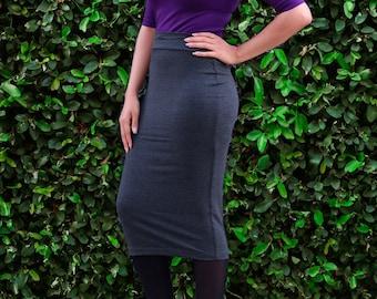 Extra Long Midi Pencil Skirt - Tight Skirt - Fitted Skirt - Tube Skirt - Bodycon Skirt - Plus Size Skirt - Petite Skirt - Tall Skirts