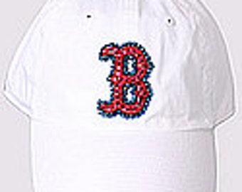 ... discount swarovski rhinestone boston red sox baseball cap in white  twins enterprise 0c539 94695 ... 2ab01c8518c