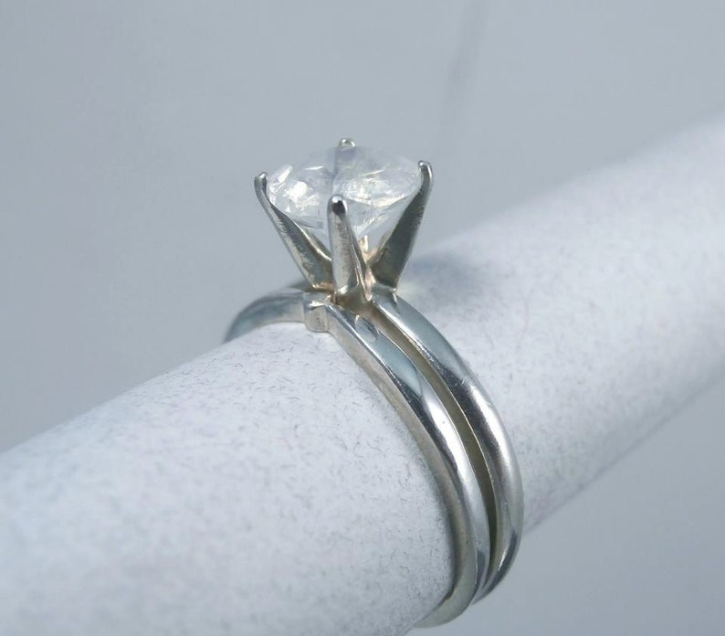 Re Sizing Service For Wedding Ring Sets Sterling Silver Etsy