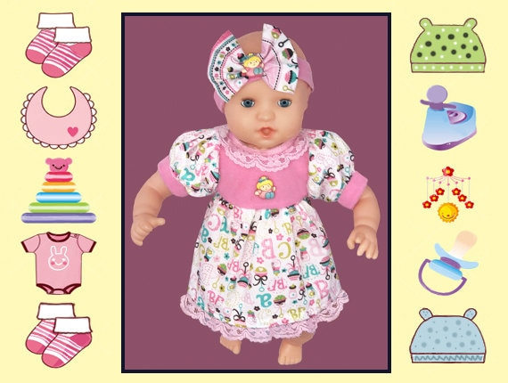 12 In Baby Doll Dress And Headband Melissa Doug Calin Corolle Corolle Mon Premier Corolle 12 In Baby Doll Mine To Love
