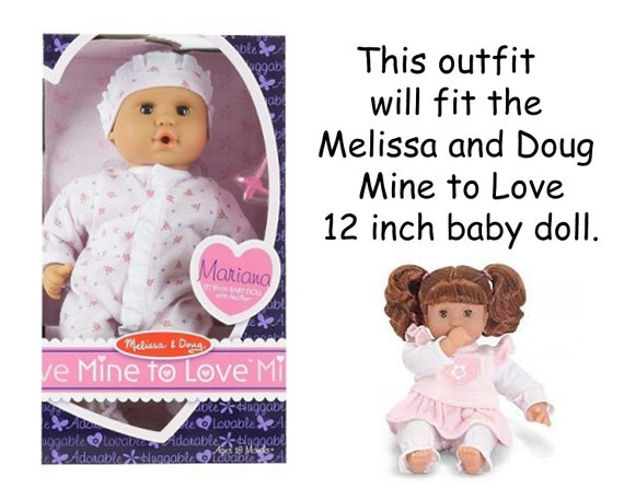 12 Inch Baby Doll Clothes Western Doll Jacket Melissa And Doug Cowgirl Doll Corolle Mon Premier Corolle 12 In Baby Doll Mine To Love