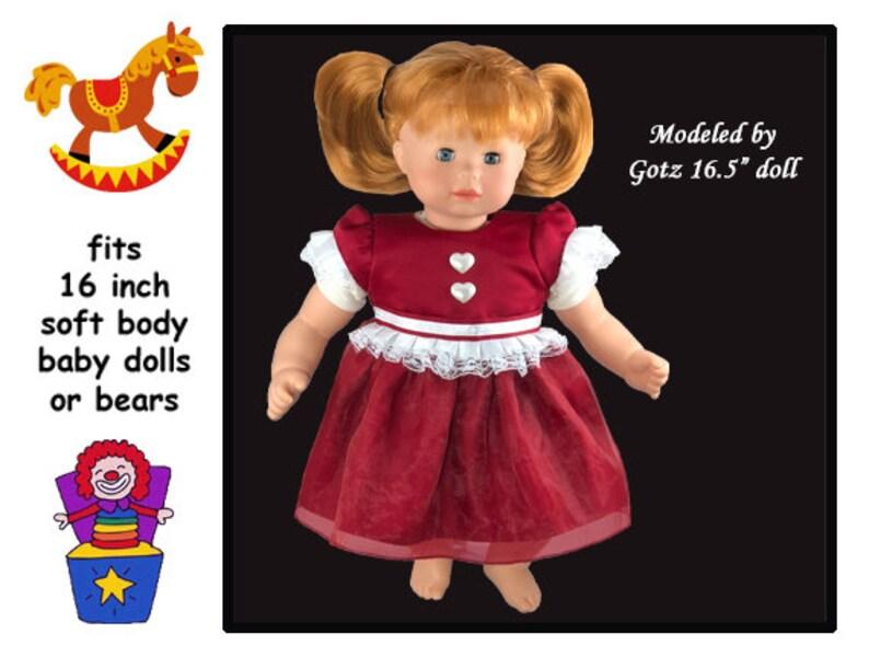 poupée reborn noir et rouge serre-tête noeud double Bébé