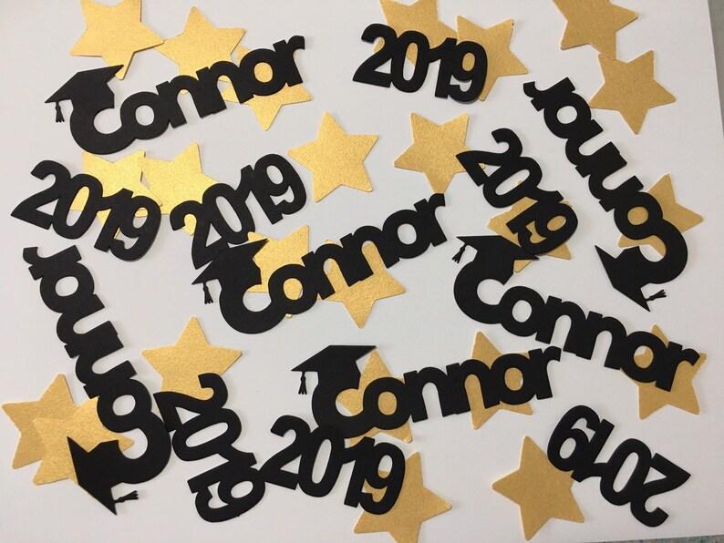 Personalized Name Graduation Confetti Name Confetti Table image 0