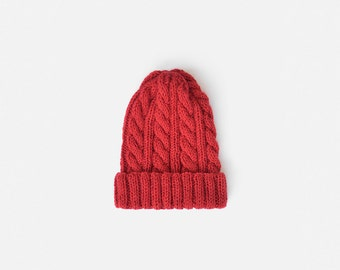 0b0980699ee READY TO SHIP   Hand Knit Beanie