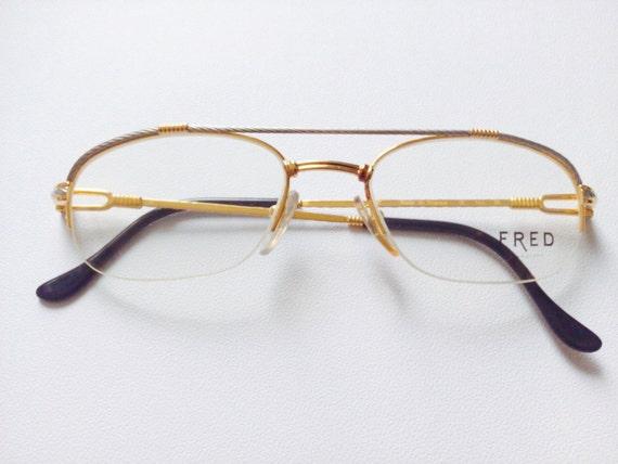 Vintage Fred Lunettes- Caravelle eyeglasses 80'S