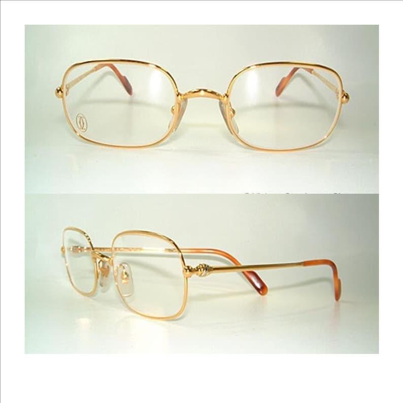 14fc69acc22 Cartier Deimios Glasses eyewear 100% Authentic true vintage