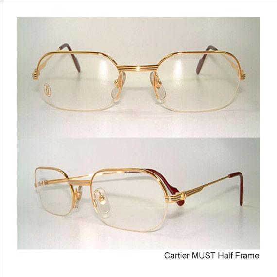 a896d2a5bce Cartier MUST Half Frame Ascot